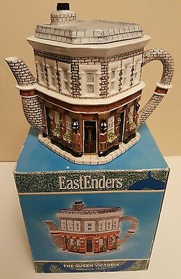 Collectable Annie Rowe Eastenders Queen Victoria Teapot ~ Boxed