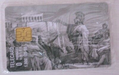 Rare Sealed Greek Phonecards 1998 (The Pericle speaks from the Pnuka) (Vintage)