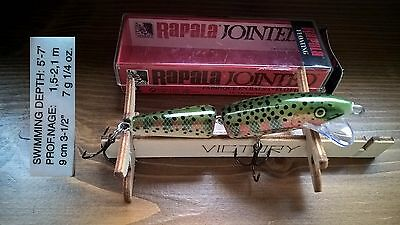 Artificiale Rapala Jointed J-9 RT /Fishing leurre lure minnow
