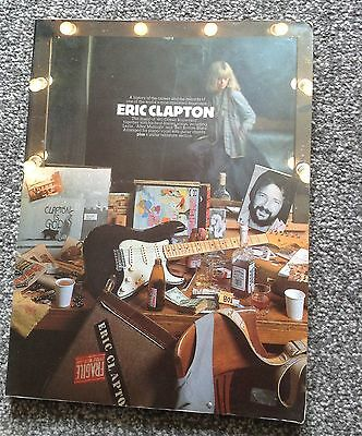 Erc Clapton History of Career and Piano Guitar Vocal Sheet music Chords Book