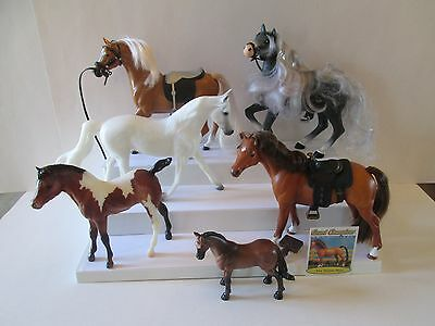 6 pc lot large horses by Grand Champions Breyer & others