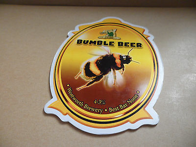 Wentworth Brewery Bumble Beer Ale Beer Pump Clip Bar Collectible