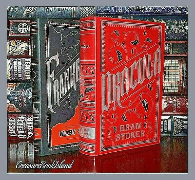 Dracula and Frankenstein by Stocker & Shelley Leather Bound New Collectible Set