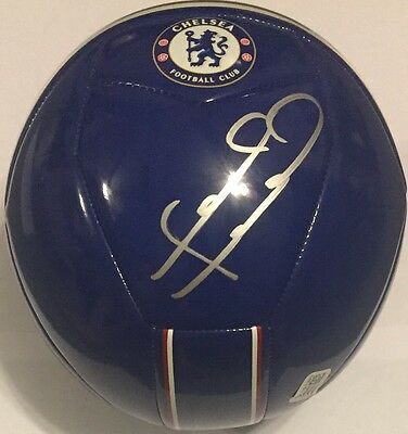 Frank Lampard Signed Size 5 Adidas Chelsea Soccer Ball W/ Proof England Nycfc