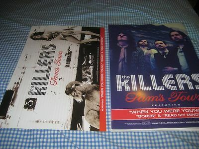 THE KILLERS-(sam's town)-1 POSTER-2 SIDED-11X17-NMINT-RARE