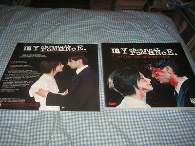 MY CHEMICAL ROMANCE-(life on the murder scene)-1 POSTER FLAT-2 SIDED-12X12-NMINT