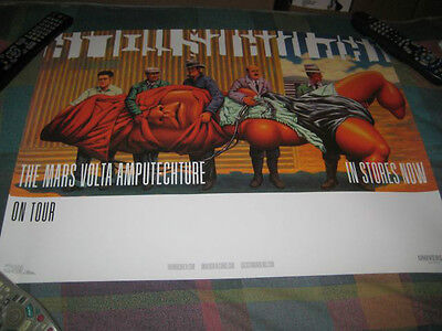 THE MARS VOLTA-(amputechture)-1 POSTER-18X24-MINT-RARE