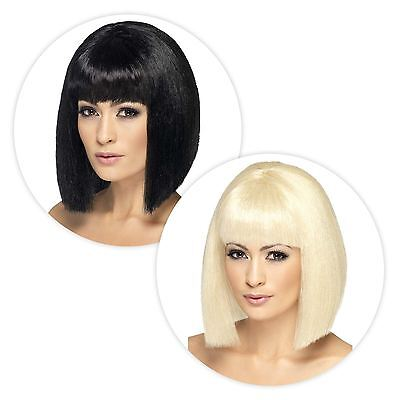 New Ladies Long Bob Lob Coquette Wig Stylish Quality Hair Fancy Dress Accessory