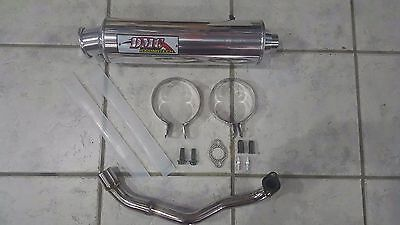Gy6 125Cc 150Cc Scooter Racing High Performance Welded Exhaust