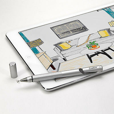 Adonit Jot Pro 2015 Fine Point Stylus,for iPad, iPhone, Android, Windows -SILVER