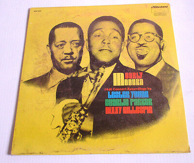 Lester Young Charlie Parker Dizzy Gillespie Early Modern 1946 LP Live [Sealed]