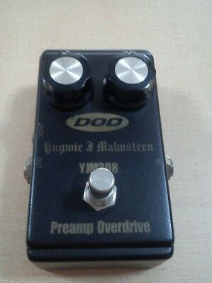 Pedal  DOD overdrive yjm 308 yngwie malmsteen