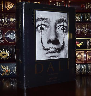 Salvador Dali The Paintings by Robert Descharnes Deluxe Sealed Hardcover Gift Ed
