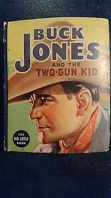 Big Little Book Western #1404 Buck Jones and Two-Gun Kid (Whitman, 1937) FN