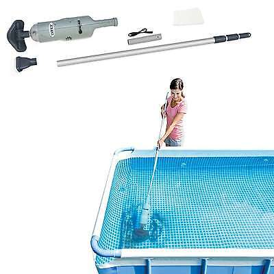 Vacuum Cleaner Rechargeable Above Ground Swimming Pool Aluminum Telescoping