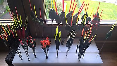 Mix galleggianti pesca varie marche-misure/Fishing float Maver Tubertini Sarfix