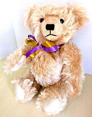 "Dean's Rag Book CECIL Neil Miller 17"" Jointed Mohair Teddy Bear Ltd Ed 273/1000"