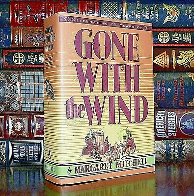 Gone with the Wind by Margaret Mitchel 75th Anniversary Brand New Hardcover