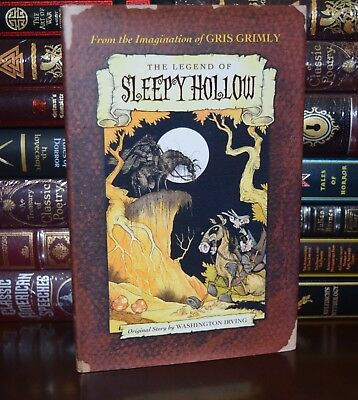 Legend of Sleepy Hollow by Washington Irving New Illustrated Grimly Hardcover