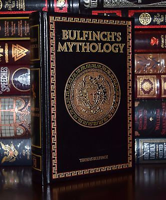 Bulfinch's Mythology by Thomas Bulfinch New Leather Bound Collectible 2 Day Ship