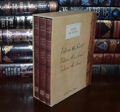 Jane Austen In Her Own Hand Series Sealed Box Set Deluxe Hardcover 2 Day Ship