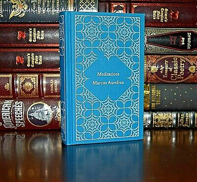 Meditations by Marcus Aurelius w/ Ribbon Marker Brand New Hardcover Gift Edition