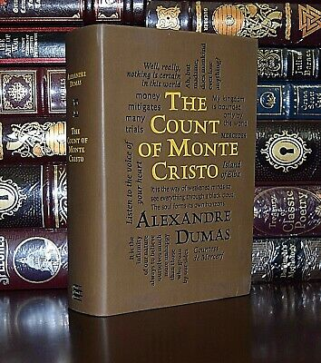 The Count of Monte Cristo by Alexandre Dumas Unabridged Soft Leather Feel Ed