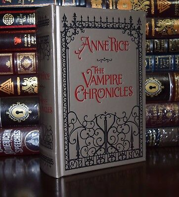 The Vampire Chronicles by Anne Rice Brand New Sealed Leather Bound Collectible