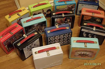 Beatles Lunchboxes  - Complete Set - Nwt