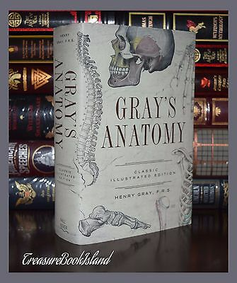 Gray's Human Medical Anatomy Medicine Illustrated by H. Gray Hardcover Gift