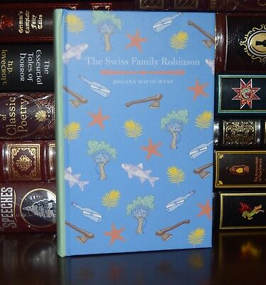 Wyss Illustrated New Collectible Gift Hardcover Swiss Family Robinson by J.D