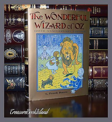 Wonderful Wizard of Oz by L F Baum 100th Anniversary New Illustrated Hardcover