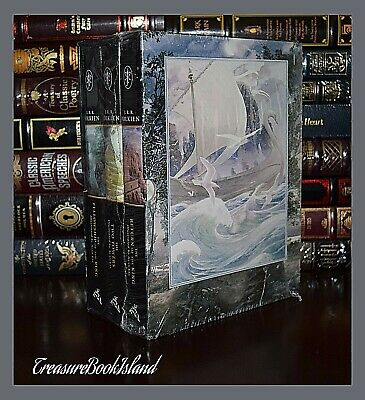 Lord of the Rings by JRR Tolkien New Sealed 3 Volume Hardcover Box Gift Set