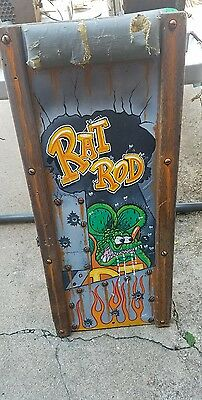 Rat rod Rat Fink Creeper Hot Rod Garage tool Man Cave Art Work Custom Wall art