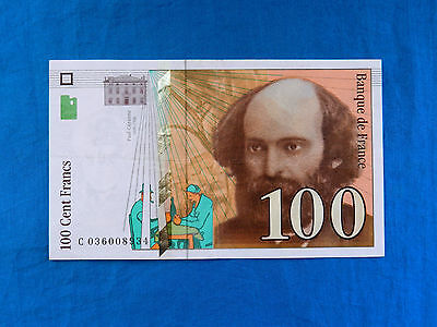 1997 France 100 Francs Banknote *P-158a.1*       *VF-XF*