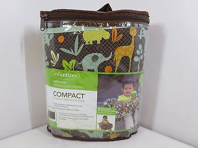 Infantino Compact 2-in-1 Shopping Cart & Highchair Cover - Neutral  8265-W82