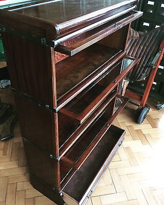 GLOBE WERNICKE 5 part BARRISTERS BOOKCASE -Delivery Possible