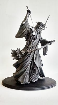 """Sideshow Weta Collectible """"Morgul Lord"""" 16"""" Statue - The Lord Of The Rings"""