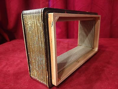 "Hohner Starlet Accordion Repair Part - Bellows 12"" x 7"" 16 Folds"