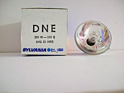 DNE Projector Projection Lamp Bulb 150W 120V Sylvania Brand (Rainbow Box)