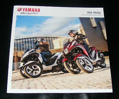 Yamaha Tricity Scooter Brochure 2015