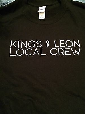 Kings Of Leon Local Crew limited edition T-shirt Brand New/Never Worn