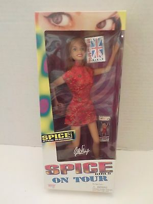 "Spice Girls On Tour ""Ginger"" Geri Halliwell Doll 1998, NRFB Mint in Box MISB"