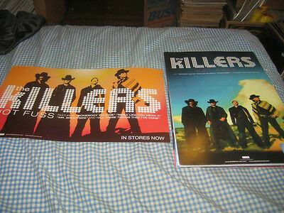 THE KILLERS-(hot fuss)-1 POSTER-2 SIDED-11X17-NMINT-RARE