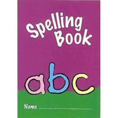 A6 Exercise Book with Spelling Cover Children's Learning Aid Spell Check