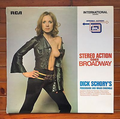Stereo Action Goes Broadway Vinyl Record Lp Rca