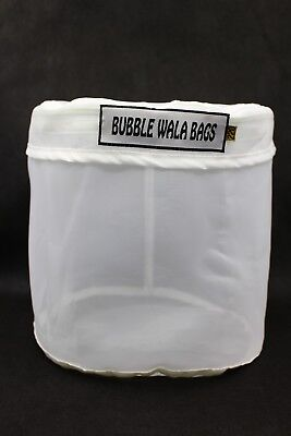 220 Micron Zipper All Mesh Bubble Bag 2 5 Gallon Extracting Washing Machine Zip