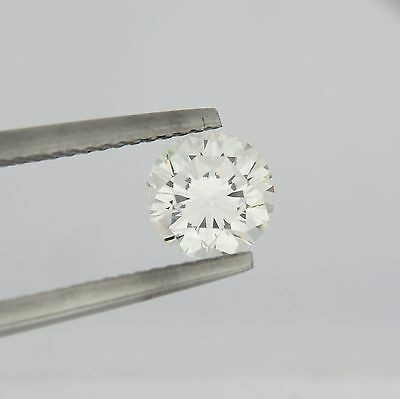0.57 Ct Round Brilliant H SI1 GIA Certified Loose Diamond Laser Inscribed