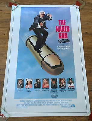 THE NAKED GUN Original US One Sheet Movie Poster, Comedy