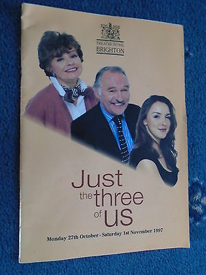 Theatre Royal Brighton 1993 Just the Three of us Prunella Scales Dinsdale Landen